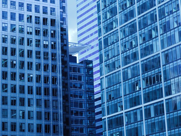architecture-blue-building-business-41170